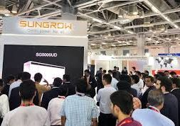 Sungrow Debuts a 1500 Vdc Outdoor Central Inverter with IP65 Protection Level at Renewable Energy India Expo