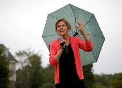Warren challenges 2020 Democrats to embrace 10-year clean energy transition