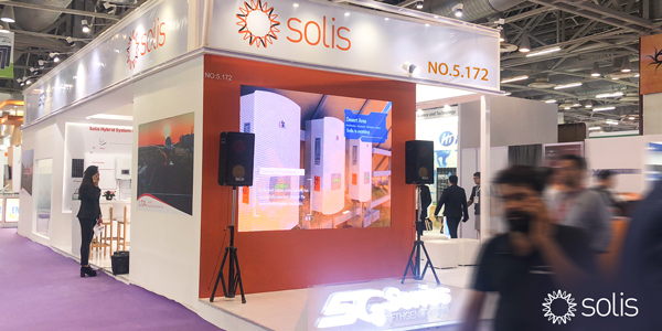 Ginlong (Solis) at Renewable Energy India Expo 2019