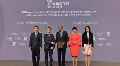 ADB, Infrastructure Asia Sign Agreement to Promote Innovative and Green Finance for Sustainable Infrastructure in Southeast Asia