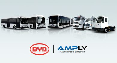 AMPLY Power BYD Partnership