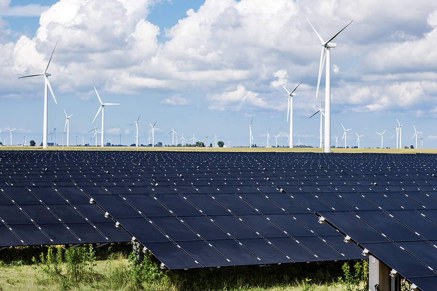 Bad weather hits supply of renewable energy