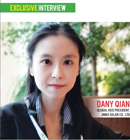 EQ in Exclusive Conversation with Mr Dany Gian Global Vice President, Jinko Solar Co., Ltd