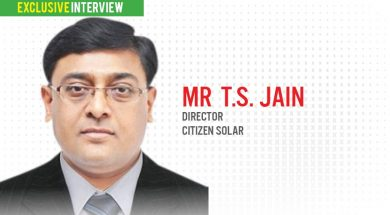EQ in Exclusive Conversation with Mr T.S. Jain Director Citizen solar