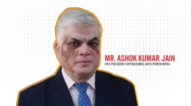 EQ in Exclusive Conversation with Mr. Ashok kumar Jain Vice president (operations), rays power infra