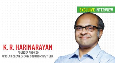 EQ in Exclusive Conversation with Mr. K. R. Harinarayan Founder and CEO U-Solar Clean Energy Solutions Pvt. Ltd.