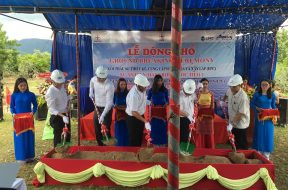 Ground breaking to build Phuoc Thai 1 solar power project