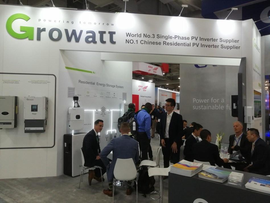 Growatt Showcased XH Storage Ready Inverter at Solar Power International