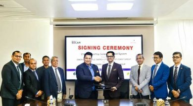 Omera signs MoU with Bitopi for Bangladesh's 'largest' rooftop solar system