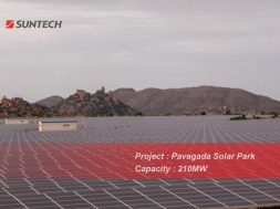 The Largest Power Station Project of Half-cell Modules Supplied by Suntech Successfully Connected to the Grid in India