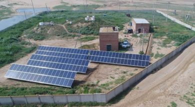 'On-grid solar pumps in water-scarce areas'