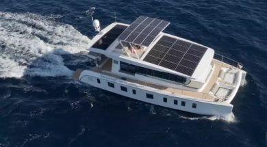 A Solar-Powered Yacht That Claims To Be Virtually Silent As It Cruises Is On The Market For $1.54 Million