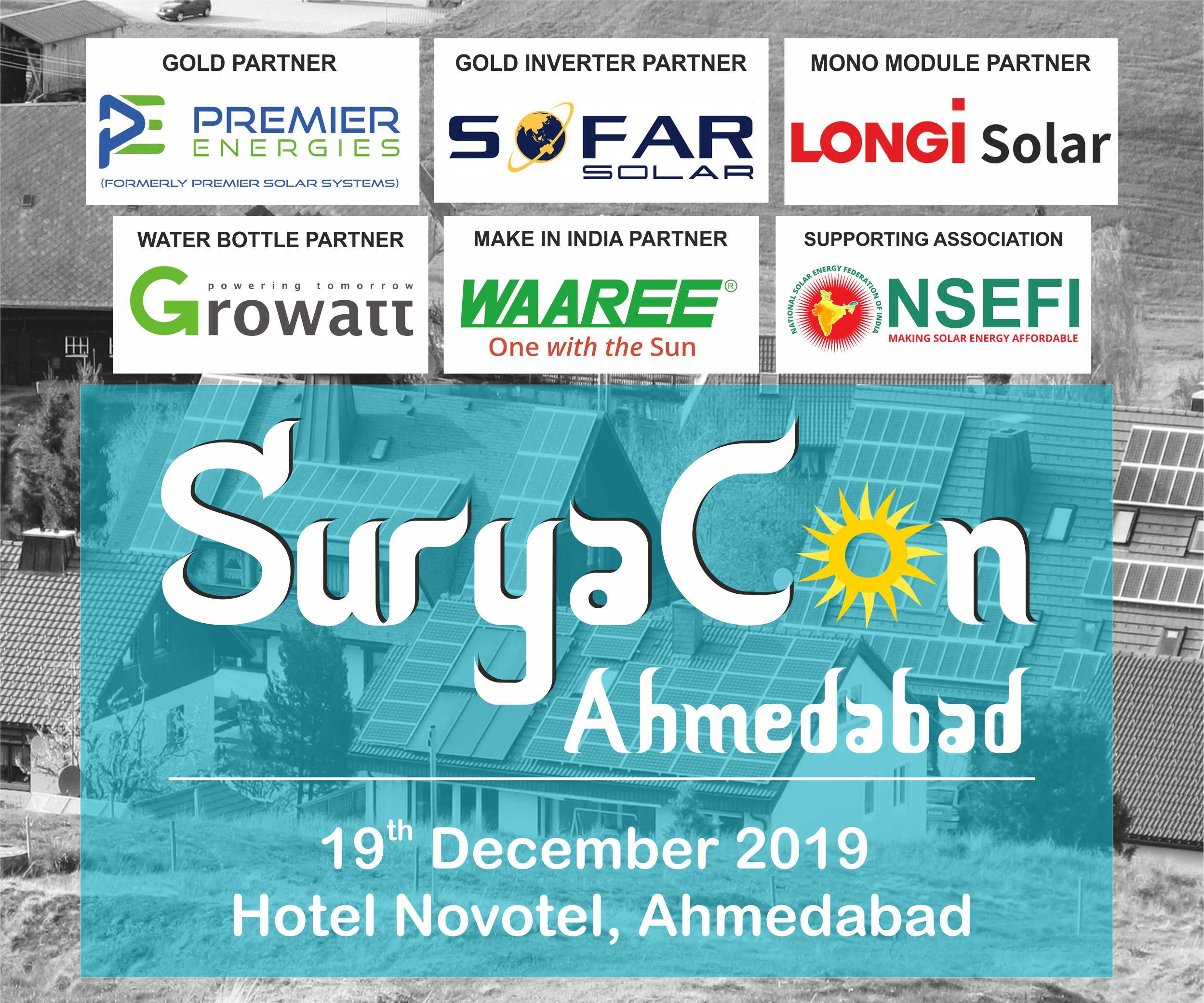 Ahmedabad EQ – Suryacon Conference on December 19, 2019 at Hotel Novotel, Ahmedabad