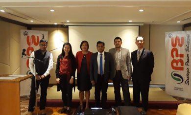Amitansu Satpathy, Managing Director, BPE with his team
