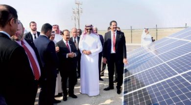 Bahrain Inaugurates Tatweer Petroleum Solar Power Plant