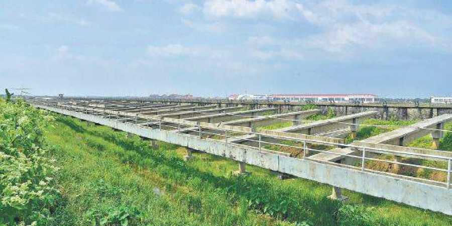 CIAL starts dismantling solar panels on canal