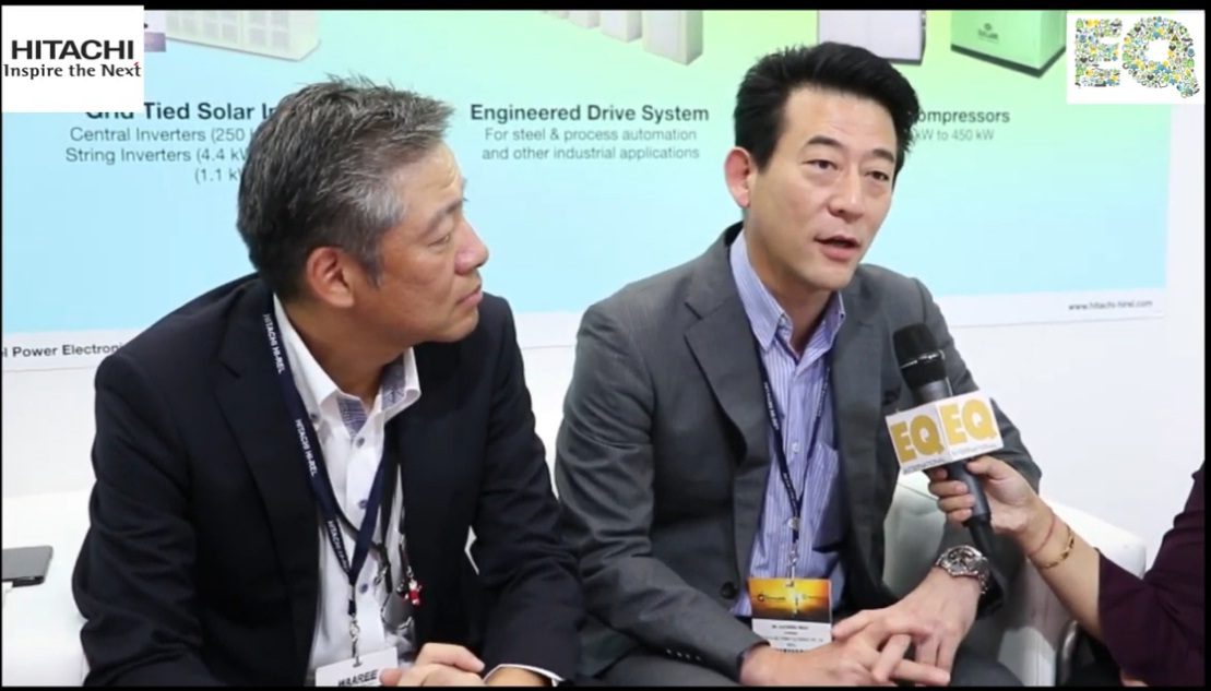 EQ in conversation with Dr.Kazuhiro Imaie – Chairman at Hitachi Hi – Rel Power Electronics