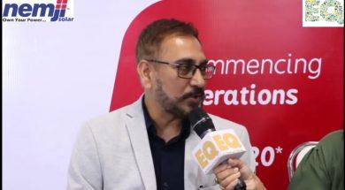 EQ in conversation with Mr. Chetan Shah –MD at Nemji Solar