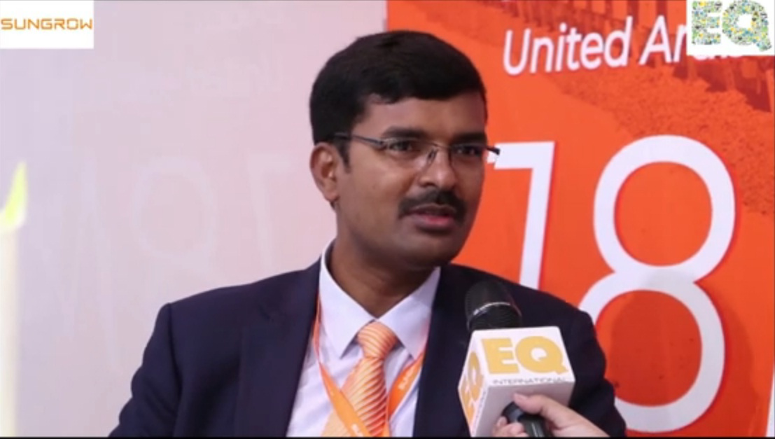 EQ in conversation with Mr.Nataraja MS – Head –  Technical Dept.at Sungrow