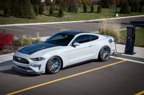 Ford built an electric Mustang with a manual transmission. And we're mad.