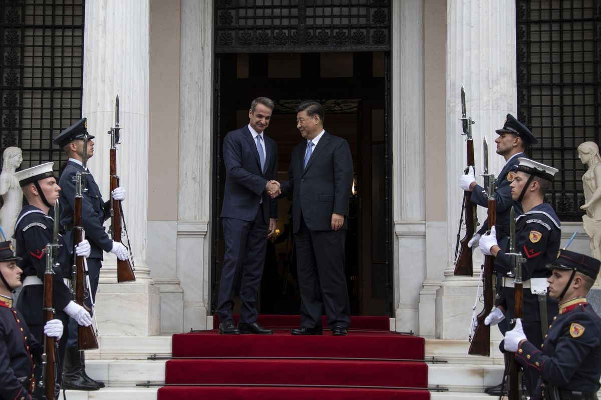 Greece, China Sign 16 Deals in Sectors Including Energy