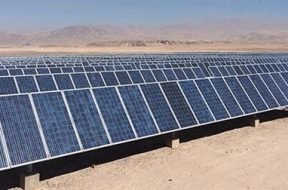 Ingeteam has passed the 1 GW mark for PV power supplied to Chile