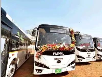 Pune: PMPML e-bus fleet swells, charging points remain few