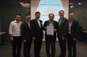 Solarvest's IPO oversubscribed by 35 times
