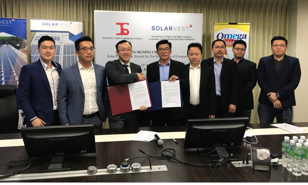 Teo Seng to invest RM13 million for solar PV system