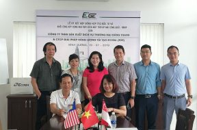 EGE AND DANG THANH SIGN THE CONTRACT FOR COOPERATION IN INVESTMENT IN ROOFTOP SOLAR POWER SYSTEM