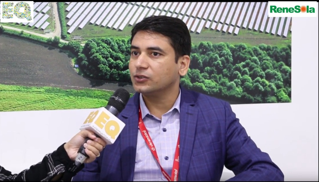 EQ in conversation with Krishan Sharma  – Vice President  at Renesola