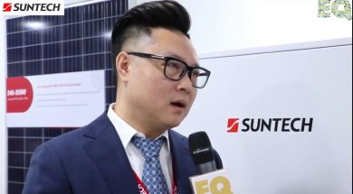 EQ in conversation with Mr. Joey Zheng – APMEA Sales Dept. at Suntech