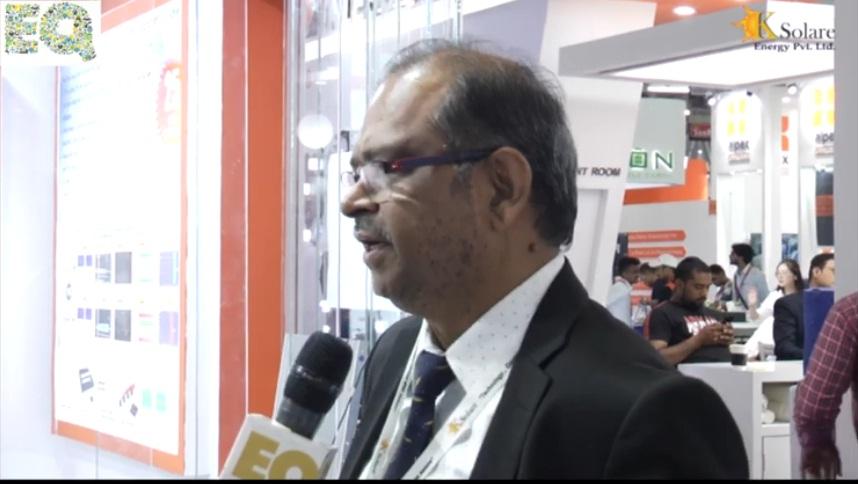 EQ in conversation with Mr. Sunil Sinnarkar  – MD  at Ksolare