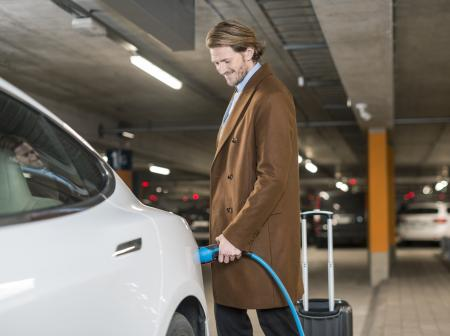 Helsinki Airport Tripled the Number of EV Charging Stations