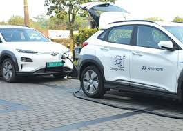 Hyundai Introduces Vehicle-to-Vehicle Charging For Kona In India