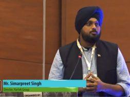 Inauguration & Keynote Address by Mr. Simarpreet Singh, Director, Hartek Group