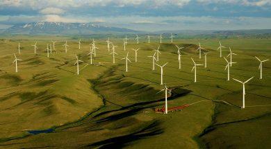 Foote Creek Wind Farm and Elk Mountain