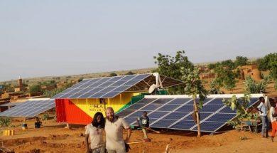 MALI-Africa Green Tec installs containerised solar mini grid in Dalakana
