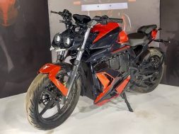 Mantis Electric Motorcycle Unveiled At The India Bike Week 2019