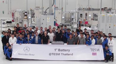 Mercedes-Benz Cars opens plug-in hybrid battery plant in Thailand