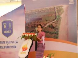 Myanmar has only achieved 50% electrification, according to State Counsellor