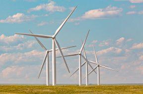 Wind Turbine at Happy Jack Wind Farm