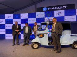 Piaggio enter EVs, launches first three-wheeler Ape E-City