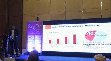 Presentation by Mr. Mohit Shrimal, Senior Marketing Specialist at Longi Solar