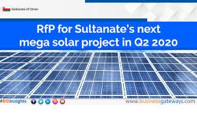 RFP for Sultanate's next mega solar project in Q2 2020