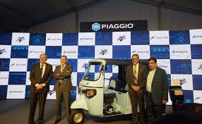 SUN Mobility's Swappable Battery Powers Piaggio's Ape E-City
