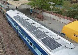 Use of Renewable Energy in Railways