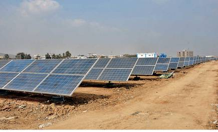 Another mile stone in Singareni's history as its first Solar Power Plant starts power generation