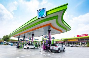 Bangchak petrol stations installing EV charging locations and solar panels