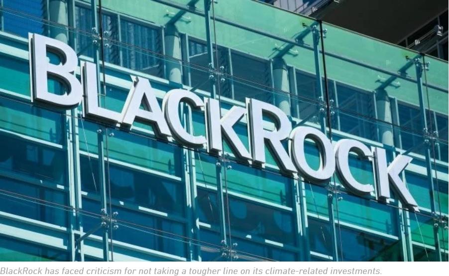 BlackRock Sends Huge Warning Shot at Companies Ignoring Climate Risk